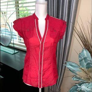 Cute red Diesel blouse